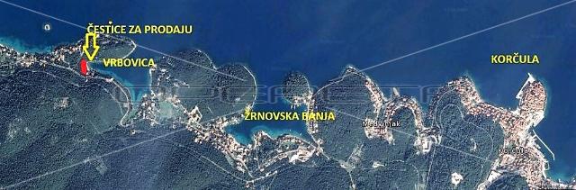 Nekretnine Hrvatska Građevinsko Zemljište Korcula Korcula 3093 m2 556740 euro