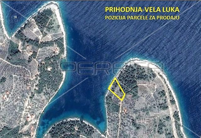 Nekretnine Hrvatska Građevinsko Zemljište Vela-Luka Vela Luka 1430 m2 215000 euro